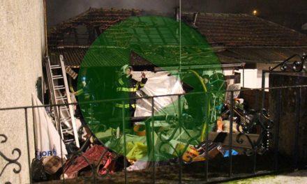Video – Homem morreu em incêndio em Santo Tirso