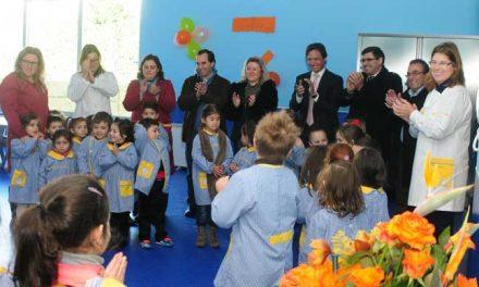 Gargalhadas e muita alegria marcam primeiro dia do novo Jardim-de-Infância de Gondifelos