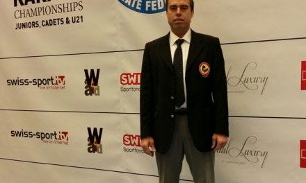 Mestre Joaquim Fernandes em destaque no campeonato da Europa de Karaté