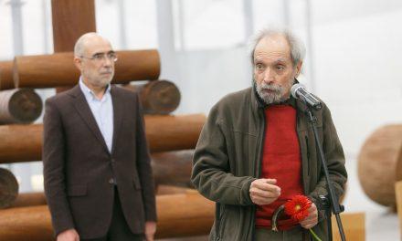Video – Alberto Carneiro expõe na Fábrica de Santo Thyrso