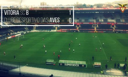 V. Guimarães B-Aves, 1-0