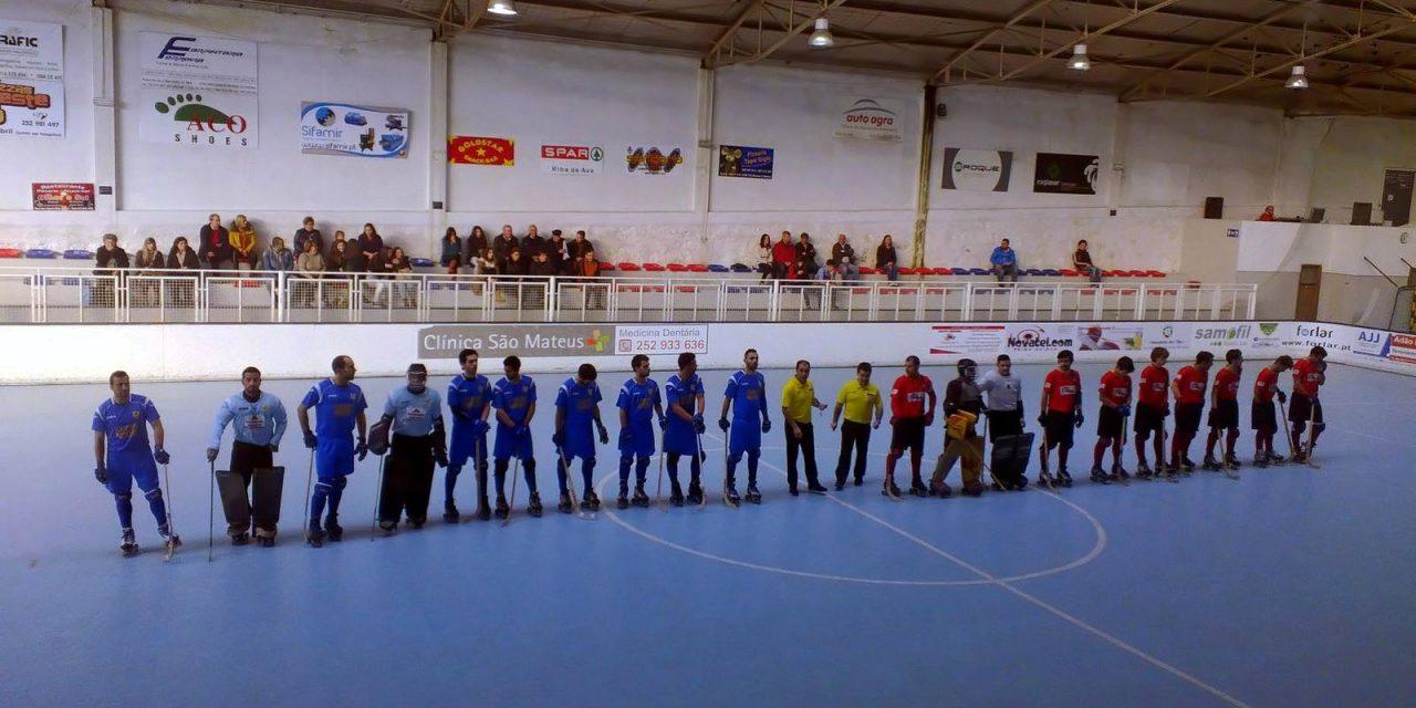 Hóquei em Patins: Riba d' Ave HC 5 – 5 HC Marco   Empate caseiro frente ao HC Marco