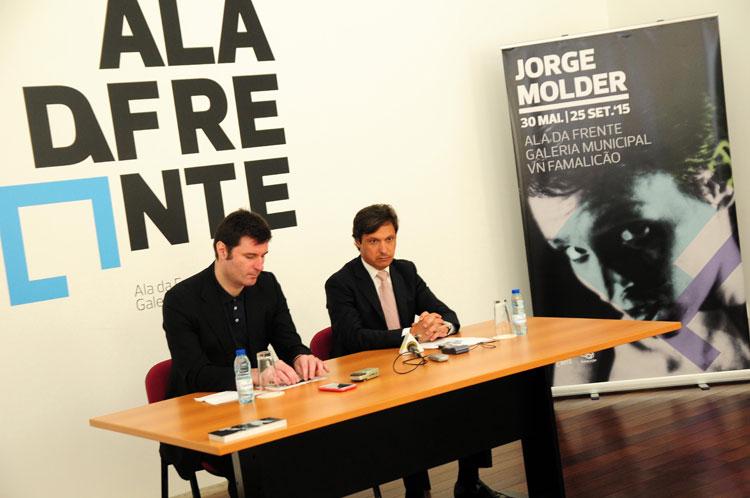 Exposição de inéditos de Jorge Molder abre Galeria Municipal que quer reforçar a dinâmica cultural do município famalicense
