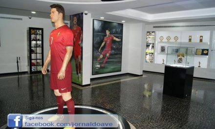 Pintor tirsense pinta retrato para museu de Cristiano Ronaldo