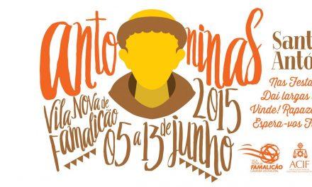 Antoninas 2015 em Famalicão – Programa Completo