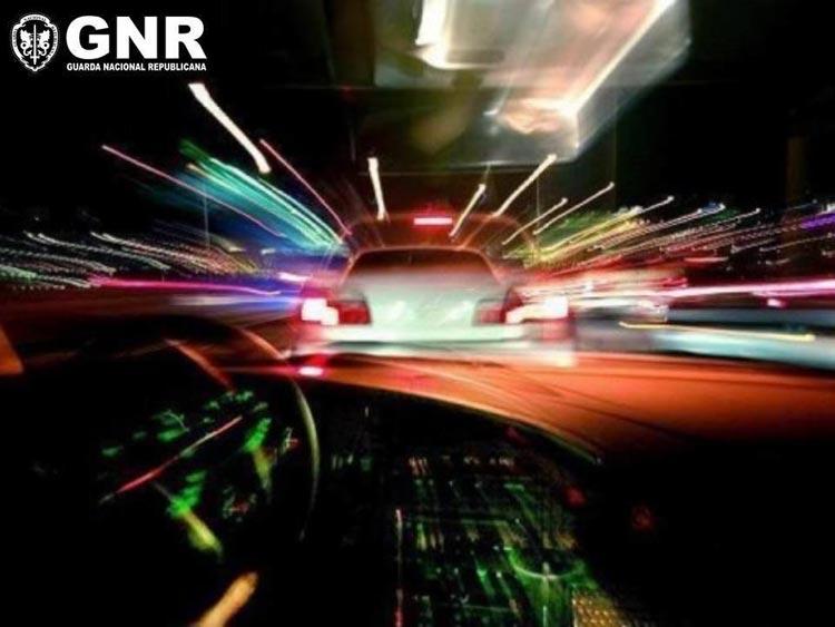 GNR no combate às corridas ilegais em Famalicão