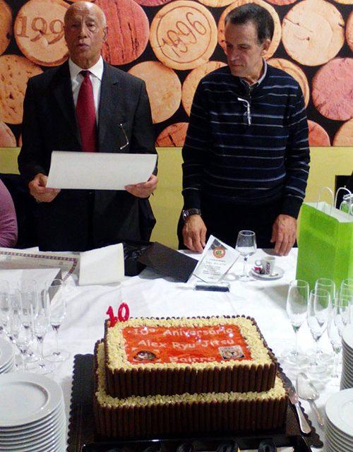 Alex Ryu Jitsu de Bairro comemora 10.º aniversário