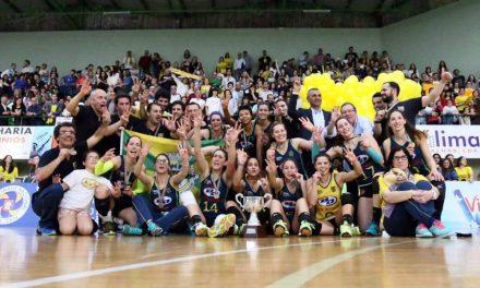 AVC pela primeira vez campeão nacional de voleibol feminino