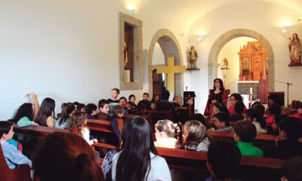 Crianças aprendem história de S. Rosendo (c/video)