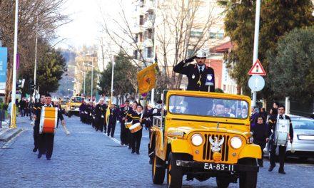 Bombeiros Tirsenses presenteados com 2 viaturas no 86.º aniversário (c/video)
