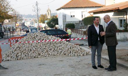 1.ª Fase da requalificação da Avenida Manuel Dias Machado em Vila Nova do Campo inaugurada a 24 de abril