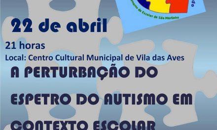 Escola Básica de S.Martinho, em Santo Tirso, convida para palestra sobre o autismo