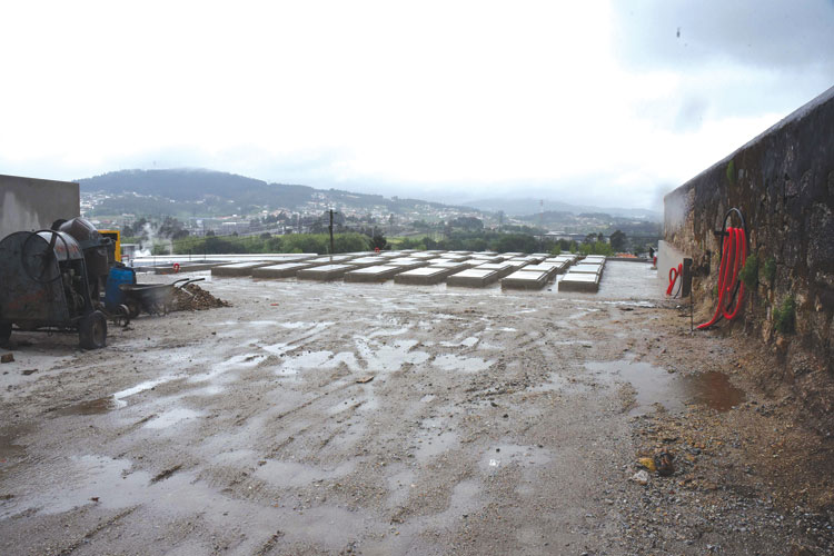 Ampliação do cemitério de Riba d'Ave quase concluída