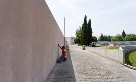 Arrancaram obras no cemitério de S.Bartolomeu