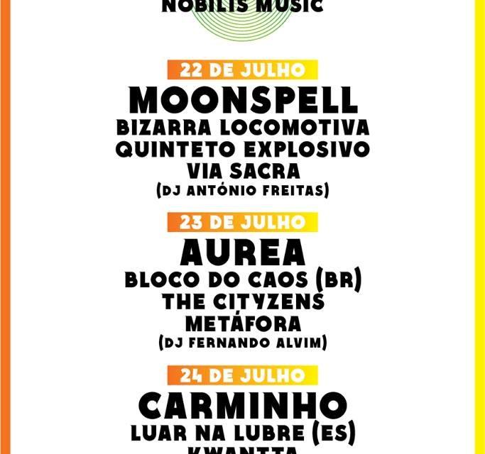 Fechado o cartaz da edição de 2016 do Laurus Nobilis Music