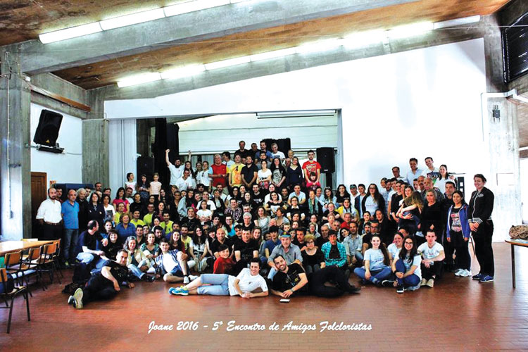 Joane recebeu 5.º Encontro de Amigos Folcloristas
