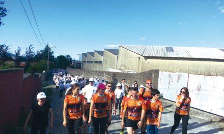 Mais de uma centena caminharam por causa nobre (c/video)