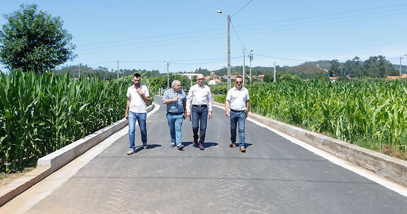 Concluídas obras de pavimentação na Rua de Marnotes em Água Longa