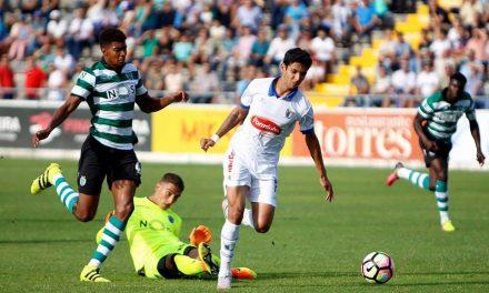 Famalicão e Sporting B empatam 1-1 em jogo equilibrado (c/vídeo)