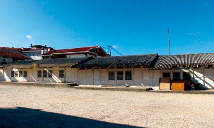 Escola Básica de S. Martinho do Campo em obras