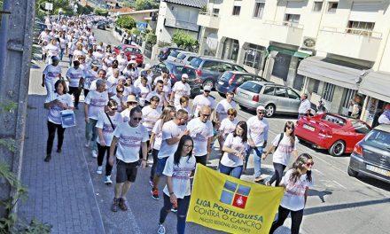 Caminhada a favor da LPCC em Vila Nova do Campo