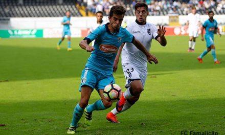 Vitória B derrota Famalicão com golo de Marcos Valente