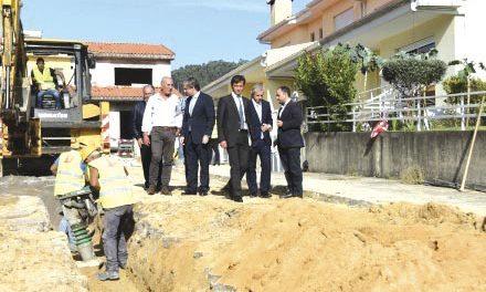 Autarquia com obras  de 4,1 milhões de euros no saneamento e água