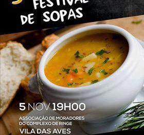 Festival de Sopas em Vila das Aves