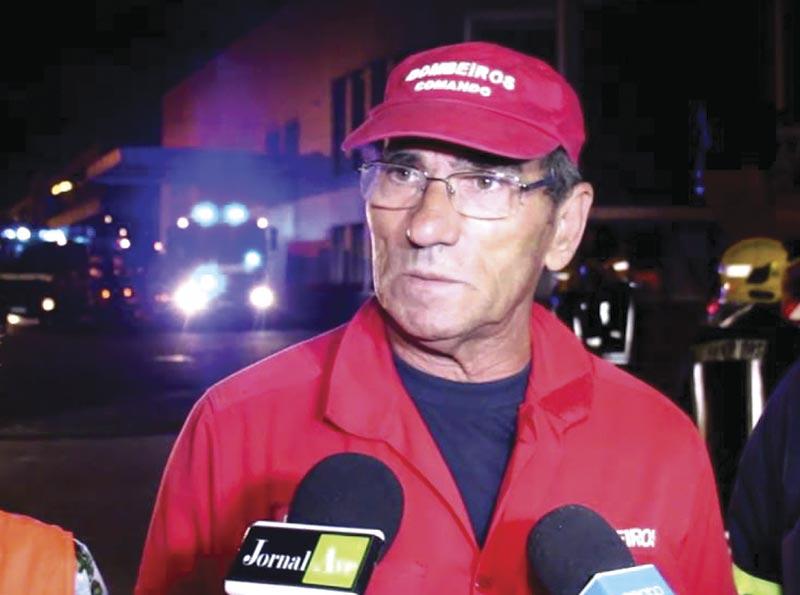Louvor a Firmino Neto por  50 anos de serviço aos bombeiros