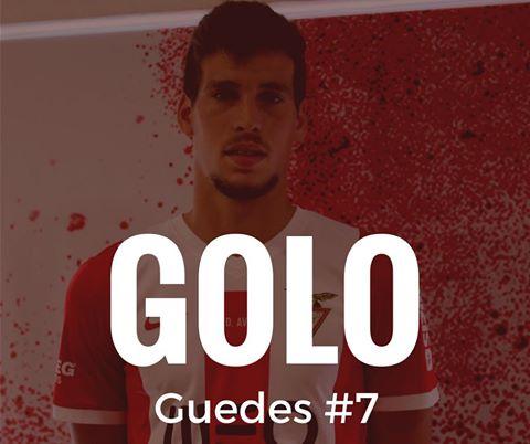 Guedes bisou na vitória do Aves frente ao União da Madeira
