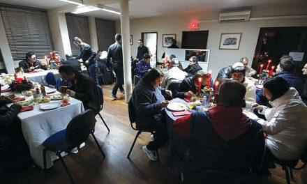 União de Freguesias promove ceia de Natal a mais desfavorecidos
