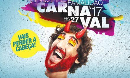"""""""Vais perder a cabeça"""" no Carnaval de Famalicão"""