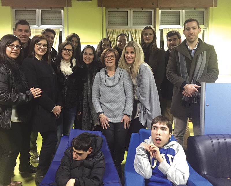 Rotaract de Famalicão doou cadeira adaptada