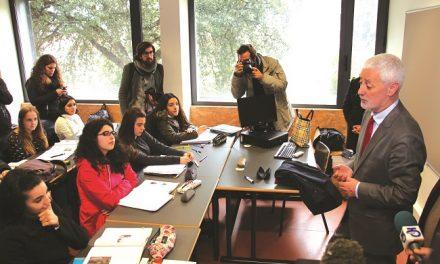 Sampaio da Nóvoa em debate com jovens de Santo Tirso e Trofa