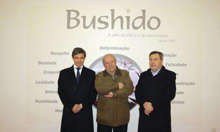 Paulo Cunha visitou a Bushido