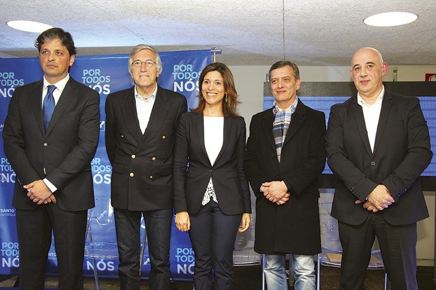 PSD e CDS unidos em Santo Tirso para atacar autárquicas