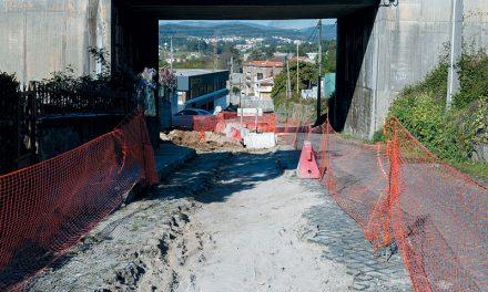 Arrancou requalificação ao acesso à zona industrial de S. Martinho do Campo