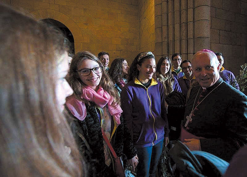 Bispo do Porto deixa mensagem aos jovens
