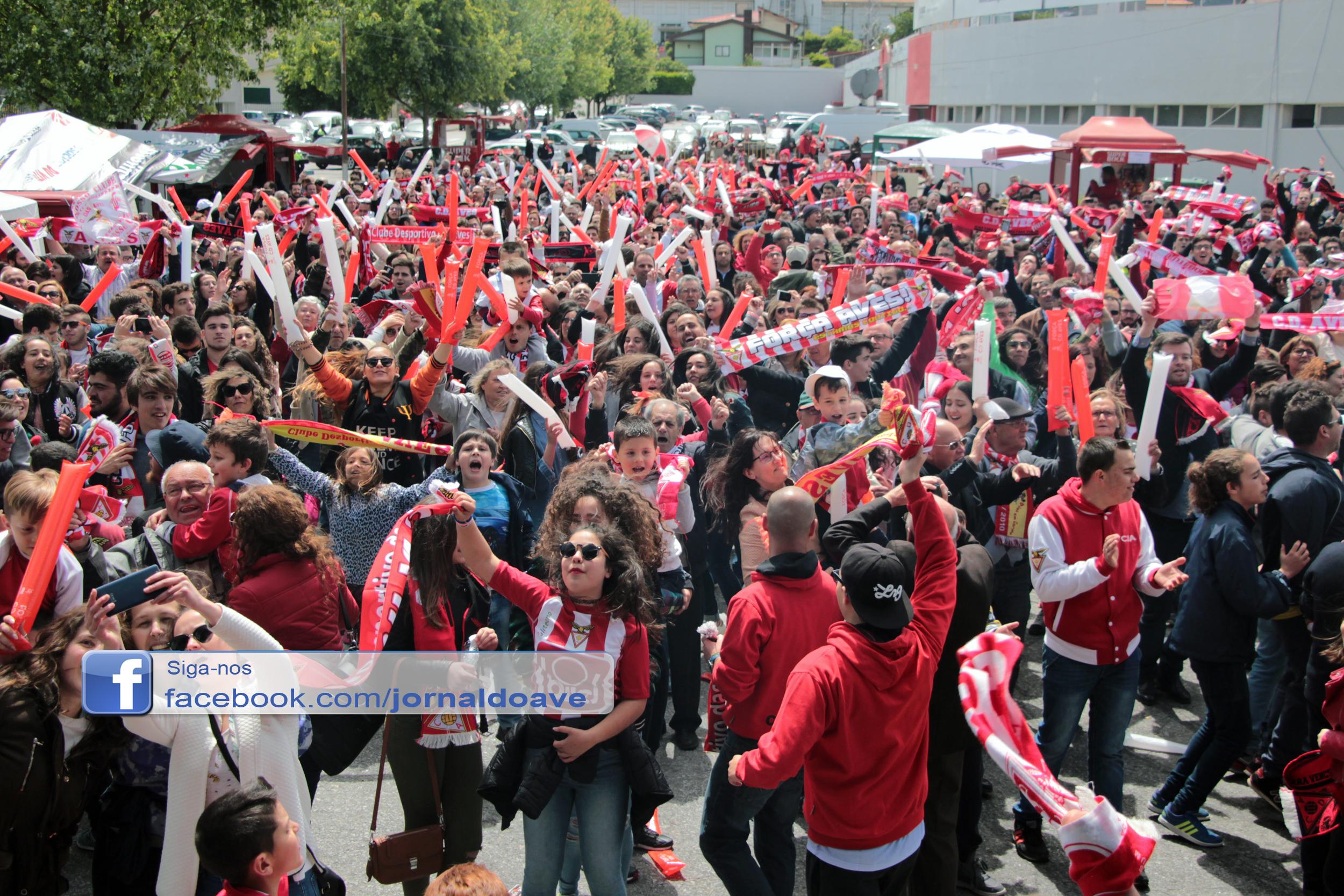 Desportivo das Aves assegura subida à 1.ª Divisão