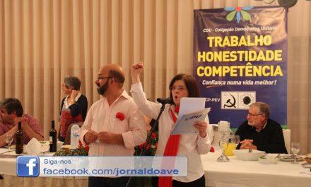 Maria Augusta Carvalho repete candidatura à Câmara