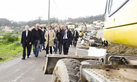 Paulo Cunha visitou maior obra na rede  viária do concelho