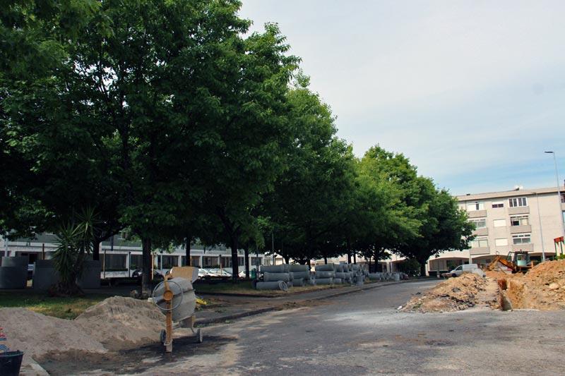 Arrancou requalificação da Praça Vasco da Gama