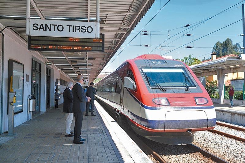 Em Santo Tirso, fluxo de passageiros de comboio aumentou 37 por cento
