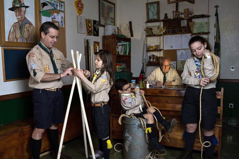 Maio com atividades dedicadas às famílias
