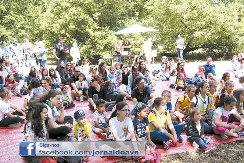 Centenas de crianças na 1.ª edição do Geão Mini Fest