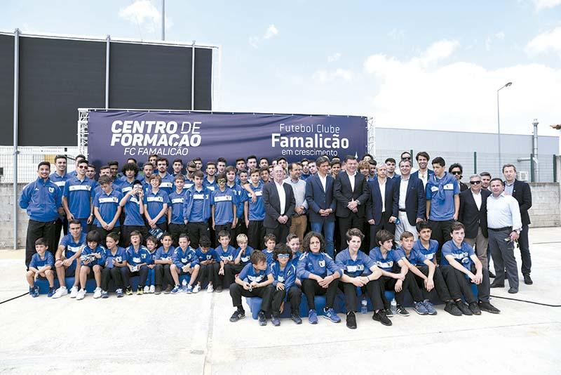Centro de Formação do FC Famalicão já começou a ser construído