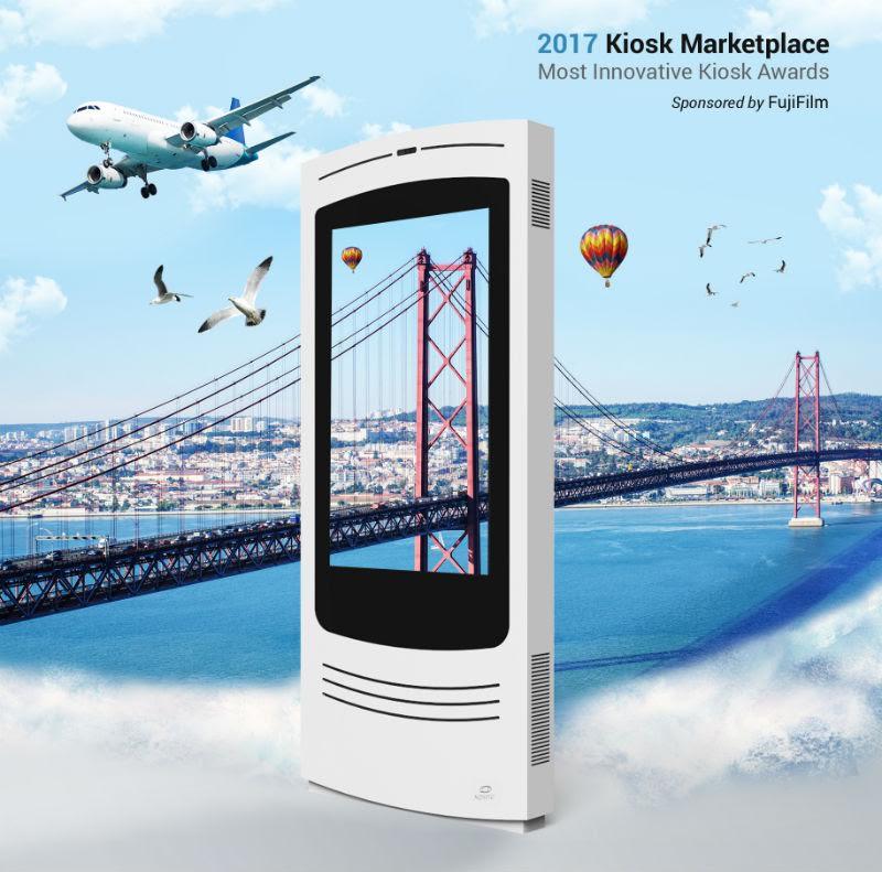 Quiosque interativo de empresa famalicense considerado o mais inovador do mundo