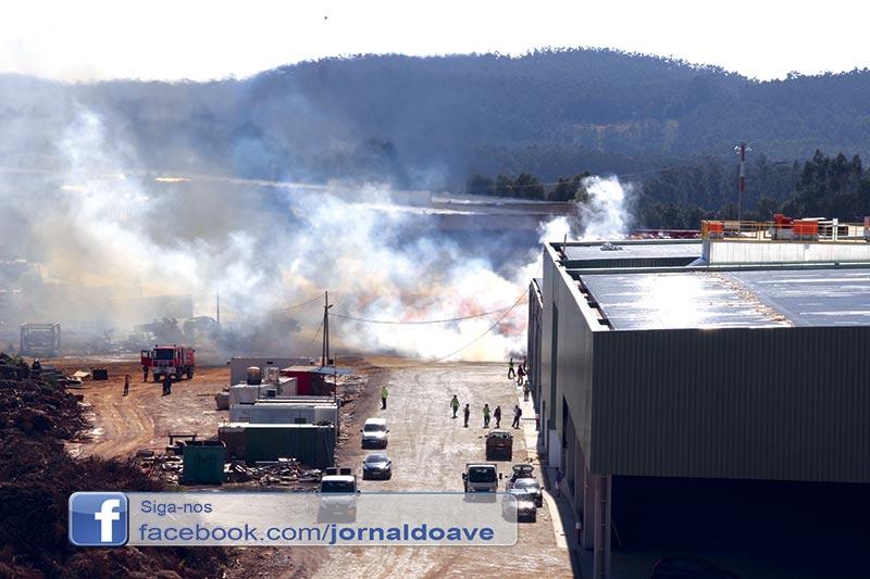 Incêndio na Tec Pellets mobilizou 46 operacionais