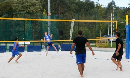 Campeonato Nacional de Futevólei com final em Santo Tirso