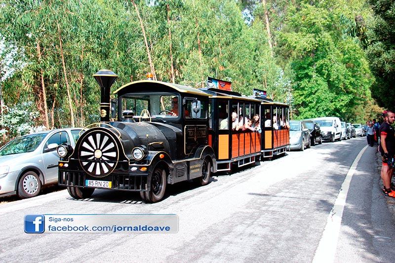 Comboio Turístico viajou por Santo Tirso